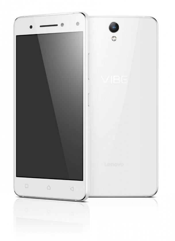 Dual SIM telefón Lenovo VIBE S1 White