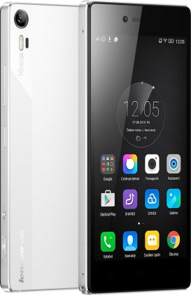 Dual SIM telefón Lenovo Vibe SHOT biely