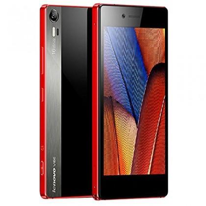 Dual SIM telefón Lenovo Vibe SHOT červený