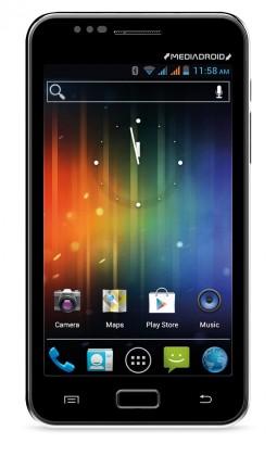Dual SIM telefón Media-Tech MT-Imperius Dual (MT7003), černý ROZBALENO