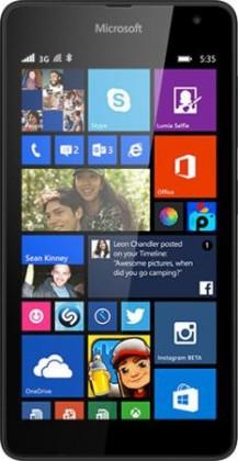 Dual SIM telefón Microsoft Lumia 535 (Dual SIM) Black ROZBALENO