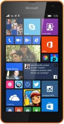 Dual SIM telefón Microsoft Lumia 535 (Dual SIM) Bright Orange