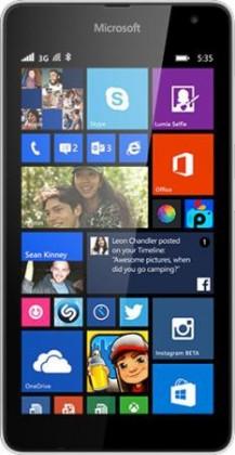 Dual SIM telefón Microsoft Lumia 535 (Dual SIM) White ROZBALENO