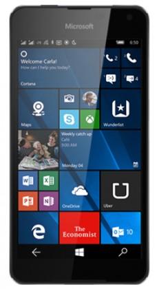 Dual SIM telefón Microsoft Lumia 650 Dual SIM, čierna