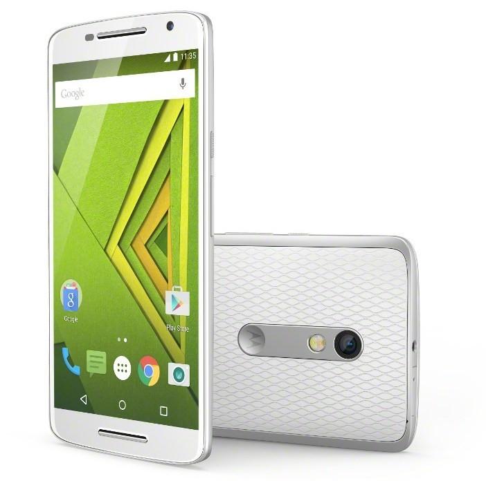 Dual SIM telefón Motorola Moto X Play biela 16GB