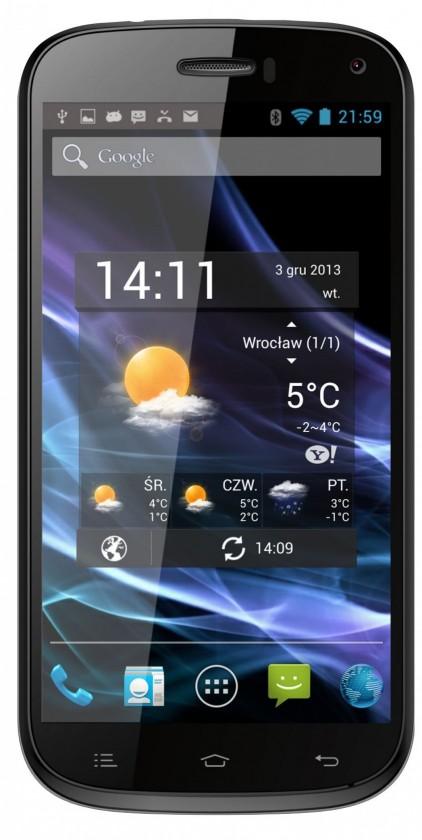 Dual SIM telefón myPhone S-LINE 16GB čierny
