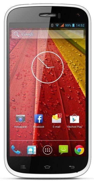 Dual SIM telefón myPhone S-LINE biely
