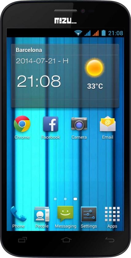 Dual SIM telefón Navon MIZU D500
