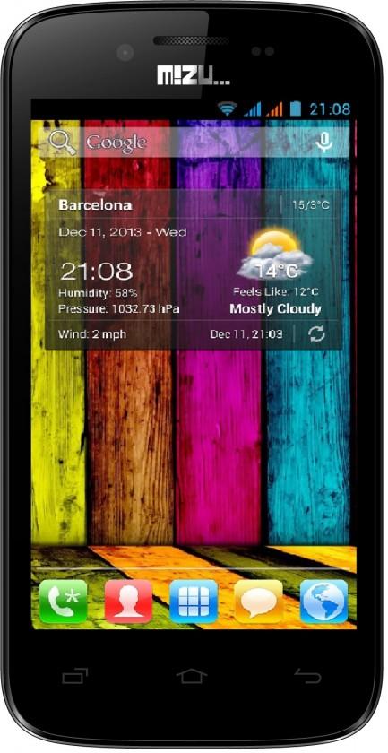 Dual SIM telefón Navon MIZU M400