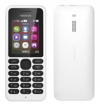 Dual SIM telefón Nokia 130 Dual SIM White