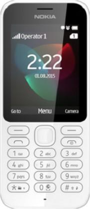 Dual SIM telefón NOKIA 222 DS White
