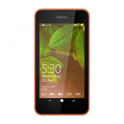 Dual SIM telefón Nokia Lumia 530 (Dual SIM) Bright Orange