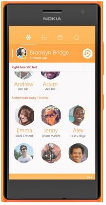Dual SIM telefón Nokia Lumia 730 (Dual SIM) Bright Orange