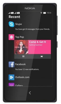 Dual SIM telefón  NOKIA XL DS Black