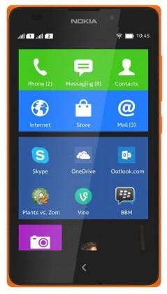 Dual SIM telefón NOKIA XL DS Orange