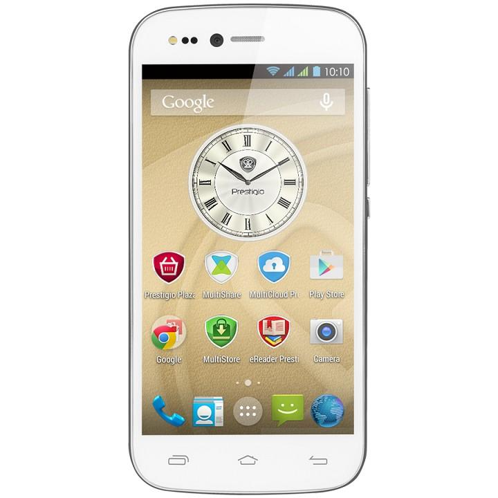 Dual SIM telefón PRESTIGIO Grace X3, White