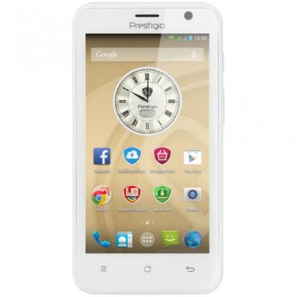 Dual SIM telefón Prestigio MultiPhone 3450 DUO biely