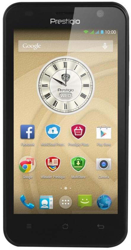 Dual SIM telefón Prestigio MultiPhone 3450 DUO čierny