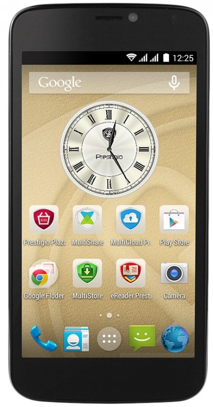 Dual SIM telefón Prestigio MultiPhone 3502 DUO chrom