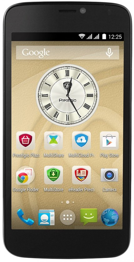 Dual SIM telefón Prestigio MultiPhone 3502 DUO čierny