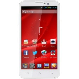 Dual SIM telefón  Prestigio MultiPhone 5300 DUO White
