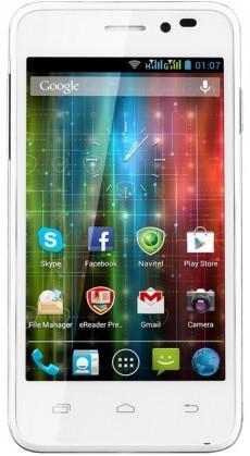 Dual SIM telefón  Prestigio MultiPhone 5400 DUO White