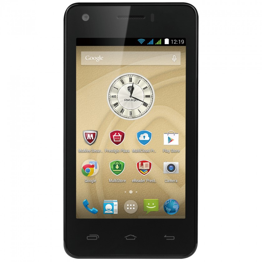 Dual SIM telefón PRESTIGIO MultiPhone 5454 DUO, black