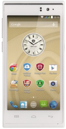 Dual SIM telefón Prestigio MultiPhone 5455 DUO biely