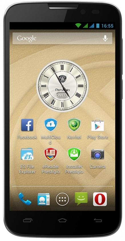 Dual SIM telefón Prestigio MultiPhone 5517 DUO Black