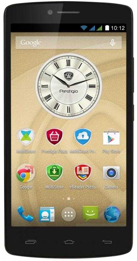Dual SIM telefón Prestigio MultiPhone 5550 čierny