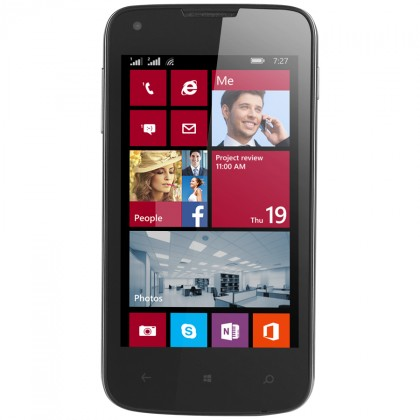 Dual SIM telefón  Prestigio MultiPhone 8400 DUO Black