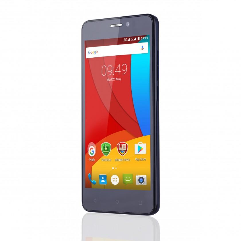 Dual SIM telefón Prestigio MultiPhone MUZE K5 5509 LTE, black