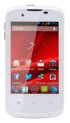 Dual SIM telefón  PRESTIGIO MultiPhone PAP3540DUOWHITE