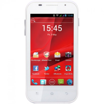 Dual SIM telefón  PRESTIGIO MultiPhone PAP4044DUOWHITE