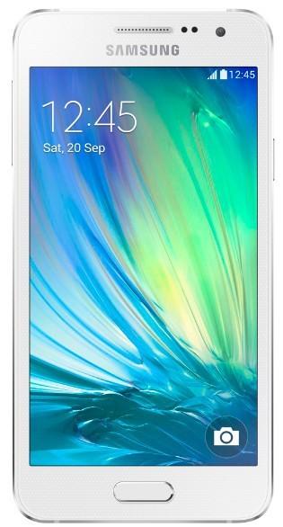 Dual SIM telefón Samsung Galaxy A3 Duos (SM-A300F) biely ROZBALENÉ