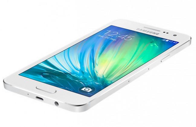 Dual SIM telefón Samsung Galaxy A3 Duos (SM-A300F) bílý