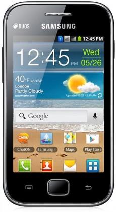 Dual SIM telefón Samsung Galaxy Ace Duos (S6802), čierny