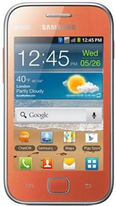 Dual SIM telefón Samsung Galaxy Ace Duos (S6802), oranžový