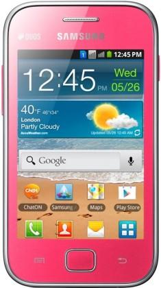 Dual SIM telefón Samsung Galaxy Ace Duos (S6802), ružový