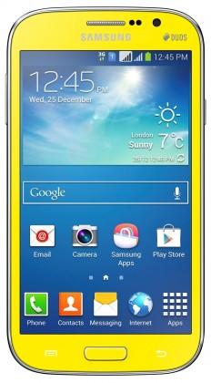 Dual SIM telefón Samsung Galaxy Grand Neo Duos (i9060), žltý