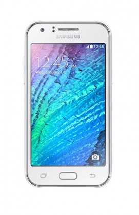 Dual SIM telefón Samsung Galaxy J1 Duos white