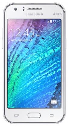 Dual SIM telefón Samsung Galaxy J1 Duos white ROZBALENE