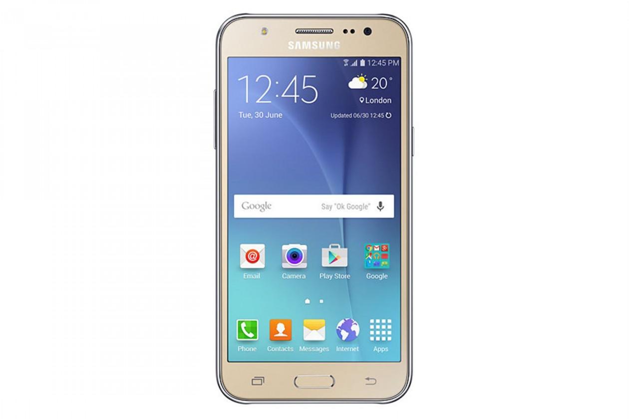 Dual SIM telefón Samsung Galaxy J5 Duos Gold