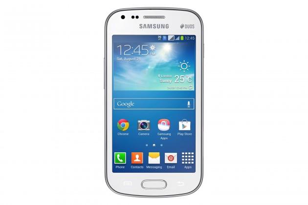Dual SIM telefón Samsung Galaxy S Duos 2 (S7582), bílý ROZBALENO