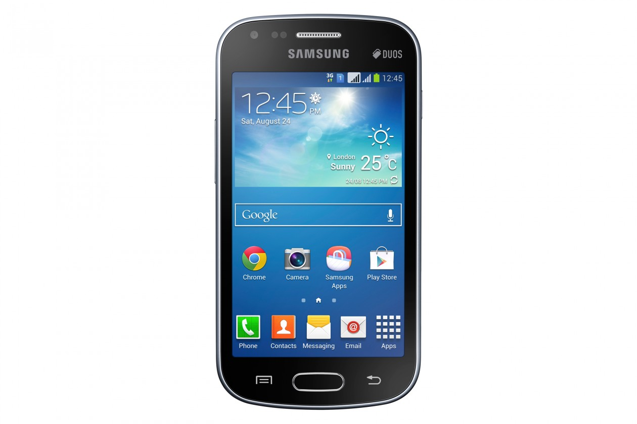 Dual SIM telefón Samsung Galaxy S Duos 2 (S7582), černý ROZBALENO