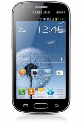 Dual SIM telefón Samsung Galaxy S Duos (S7562), čierny