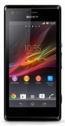 Dual SIM telefón  Sony Xperia M Dual (C2005) Black
