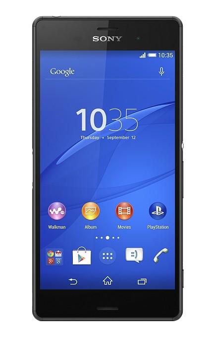 Dual SIM telefón Sony Xperia Z3 DualSim D6633 černá