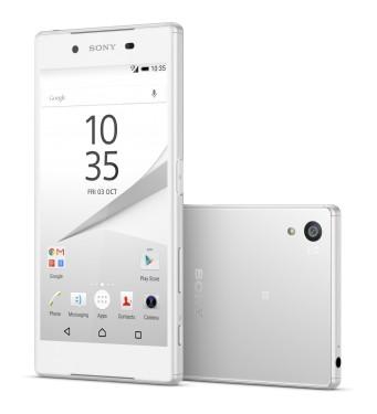 Dual SIM telefón Sony Xperia Z5 Dual E6634 bílý
