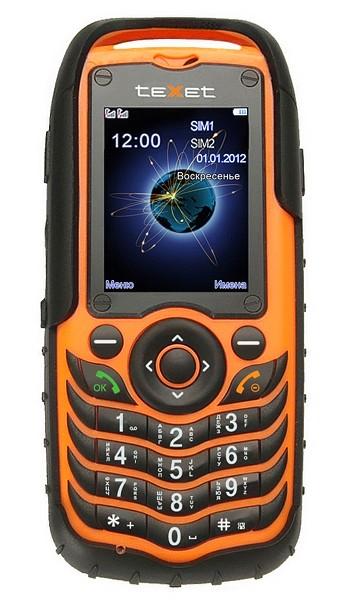 Dual SIM telefón TeXet TM-510R ROZBALENO
